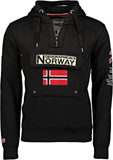Geographical Norway Gymclass - Sudadera con Capucha para Hombre