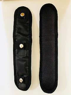 椿モデル NRK ハーネス腿用クッションパッド フルハーネス安全帯用腿パッド 黒色 フリーサイズ 2個入