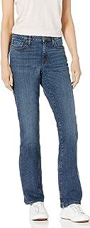 Amazon Essentials Women's Mid-Rise Authentic Bootcut Jean