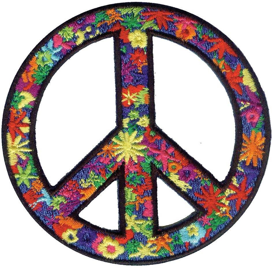 Application Flower Power Peace Patch