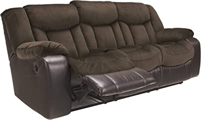 Sensational Amazon Com Abbyson Winston Leather Reclining Sofa In Brown Caraccident5 Cool Chair Designs And Ideas Caraccident5Info