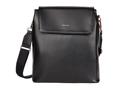 Matt & Nat Annex Loom (Black/Rose Gold) Backpack Bags