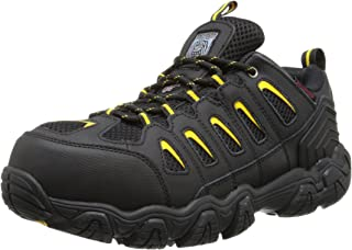 Skechers for Work Men`s Blais Steel-Toe Hiking Shoe