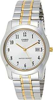 Casio Mtp-1141G-7Brdf (Analog, Stainless Steel Watch), Analog Display