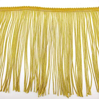 Best gold fringe fabric Reviews