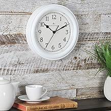 FirsTime & Co. 10044 ساعت دیواری ، 8.5 اینچ ، سفید