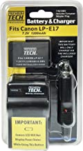 Canon Rebel T6i Digital Camera Battery Lithium-ion Battery - (1200mAh 7.2V) - Replacement for the Canon LP-E17 Camera Battery and Charger Kit