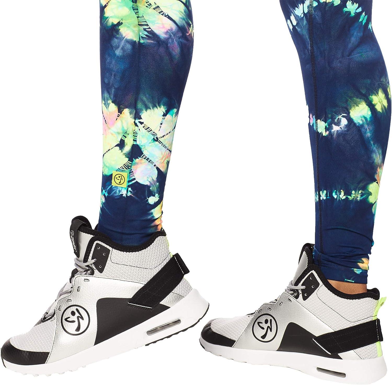 Zumba Athlétiques Pantalon Taille Haute Femme Faire des Exercices Sport Elastiques Leggings Multicolore