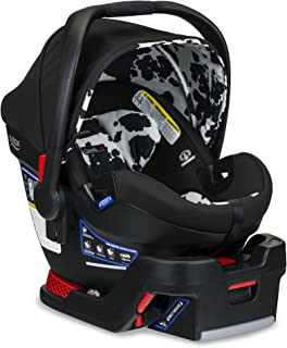 Britax B-Safe Ultra Infant Car Seat - 4 to 35 Pounds - Rear Facing - 2 Layer Impact Protection, Cowmooflage