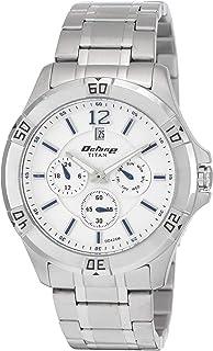 Titan Analog White Dial Men's Watch -NK1622SM02M / NK1622SM02M