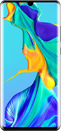 Huawei P30 Pro Dual/Hybrid-SIM 256 GB VOG-L29 Factory Unlocked 4G/LTE Smartphone - International Version (Midnight Bl...