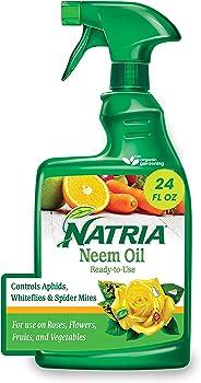 Natria Neem Oil Organic Insect Killer & Disease Control Ready-to-Use Spray