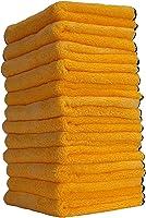 Chemical Guys MIC_506_12 Professional Grade Premium Microfiber Towels, Gold (16 in. x 16 in.) (Pack of 12)