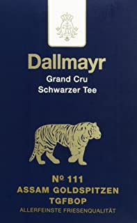 Dallmayr Grand Cru Schwarztee - Nr. 111 Assam Goldspitzen G2, 1er Pack 1 x 100 g