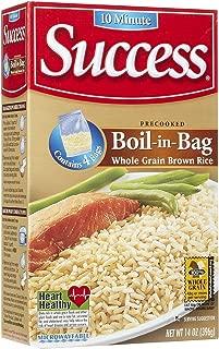 Success Boil in Bag Whole Grain Brown Rice, 14 oz, 4 ct - 2 Pack