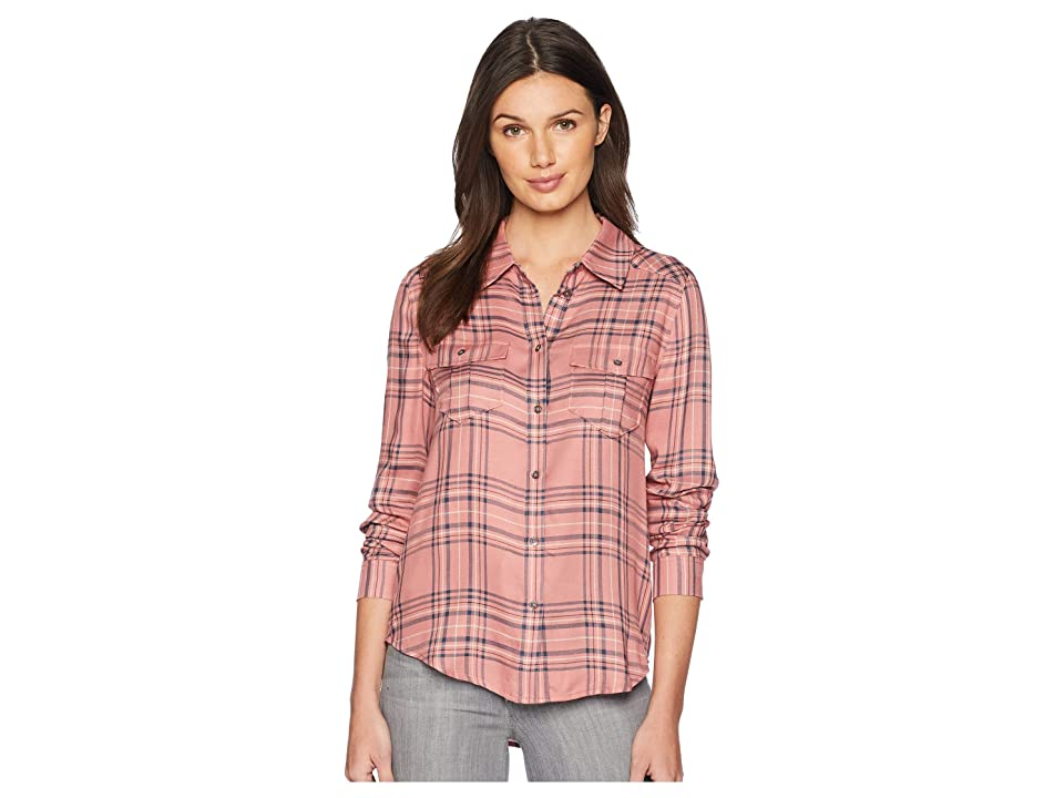 Paige Mya Shirt (Old Rose/Foxglove Plaid) Women