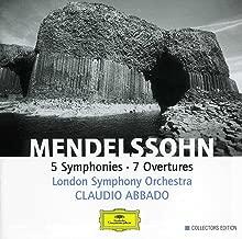 mendelssohn symphonies