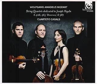 Mozart: String Quartets K428, 465 & 387