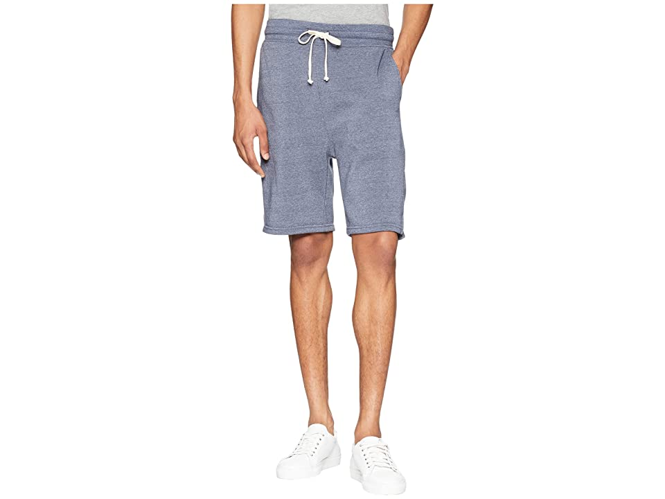 Alternative Eco Fleece Gym Shorts (Eco True Navy) Men