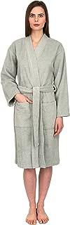 TowelSelections Women's Turkish Cotton Robe, Terry Cloth Kimono Bathrobe