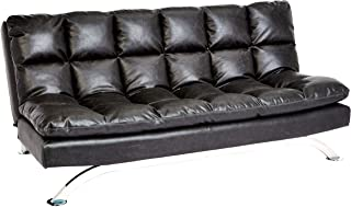 Best leather sofa with stainless steel legs Reviews
