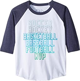 Chaser Kids - Vintage Jersey Sports MVP Tee (Little Kids/Big Kids)