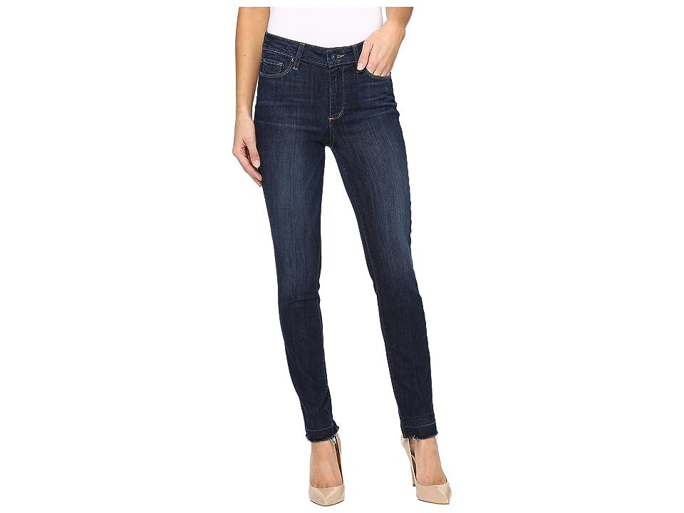 Paige Hoxton Ankle Peg w/ 3/4 Undon Hem in Merrick (Merrick) Women's Jeans, Blue