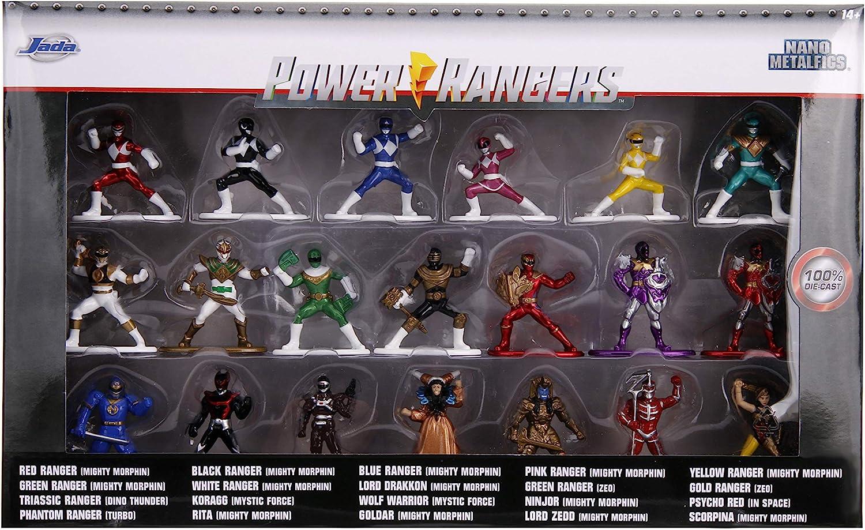 Power Rangers Nano Metal Figs 20-Pack