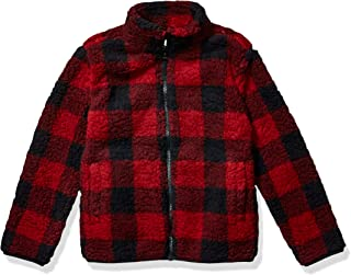 Girl's Full-Zip High-Pile Polar Fleece Jacket