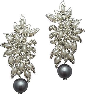 2fe1273a7 Grey Women's Earrings: Buy Grey Women's Earrings online at best ...