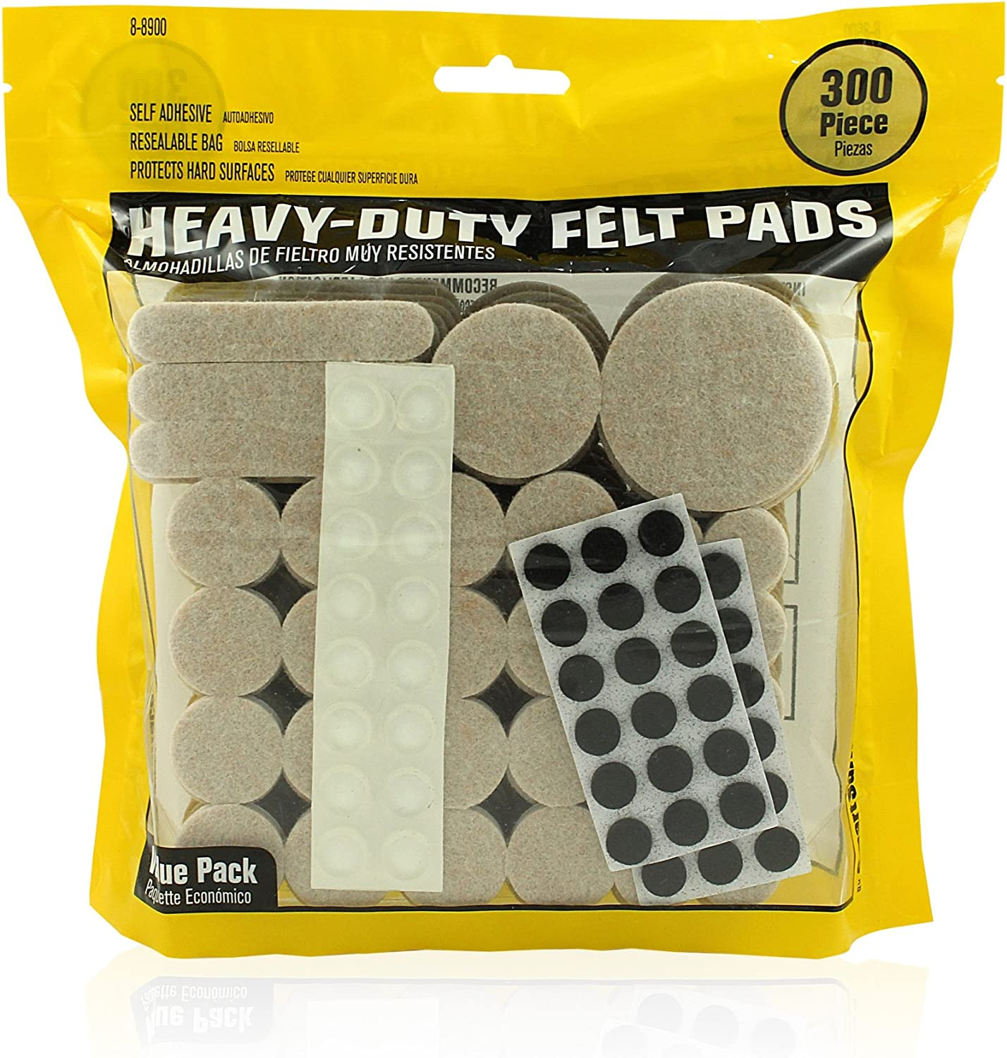 Smart Surface 8900 Heavy Duty Self Choice Popular shop is the lowest price challenge Pads Adhesive Felt Furniture