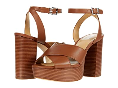 MICHAEL Michael Kors Odette Platform (Luggage) Women