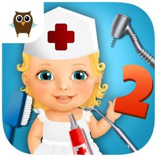 Sweet Baby Girl Kids Hospital 2 – Allergy Emergency, Broken Leg, Dentist Office and Ear Doctor