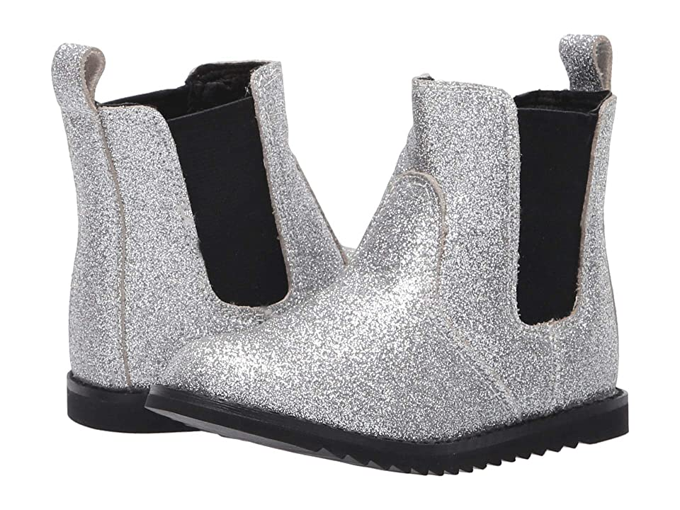 Old Soles Glam Boot (Toddler/Little Kid) (Glam Silver) Girl