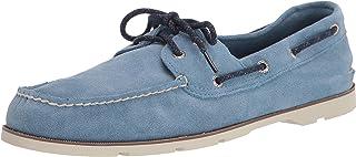 Men's Leeward 2-Eye Suede Boat Shoe