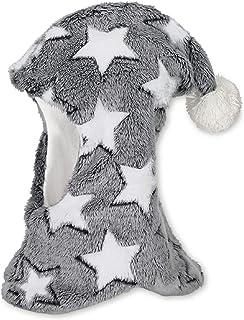 Sterntaler 思丹乐 围巾帽带尖角和星星图案,新雪丽保暖