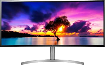 LG 38WK95C-W 38-Inch Class 21:9 Curved UltraWide WQHD+ Monitor with HDR 10 (2018)