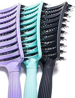 TNS FLEXI - Wet & Dry Detangle Brush (1, Red)