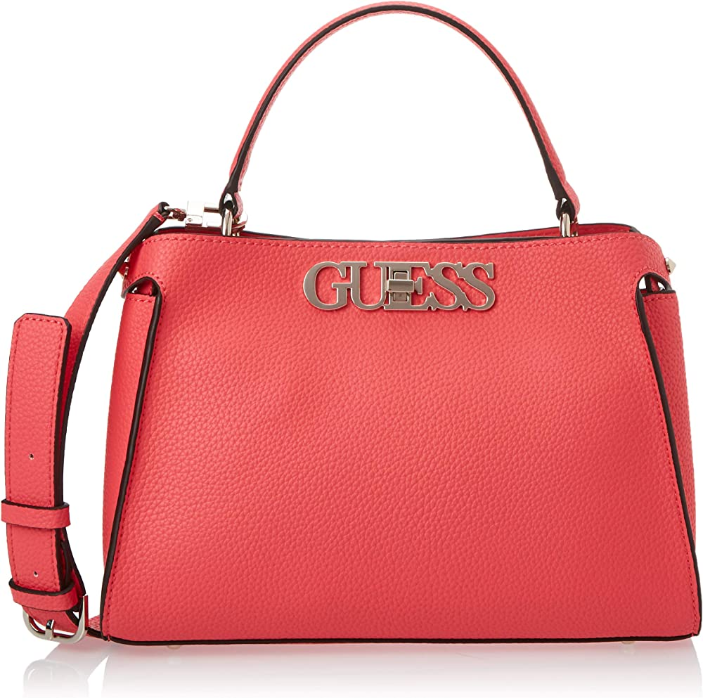 Guess uptown chic, borsa a mano/tracolla per donna, in pelle sintetica HWVG7301050