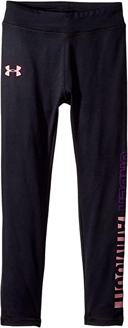 Under Armour Kids - Wordmark Pearlescent Leggings (Little Kids)