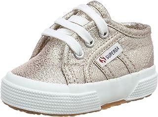 Superga Unisex Kids 2750 Lameb Low-Top Sneakers Grey Silver