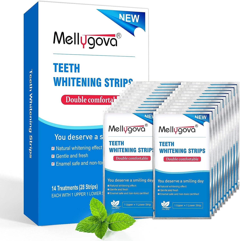 Mellygova Teeth Whitening overseas Strips Non-Sensitive 28 Fees free!! T White