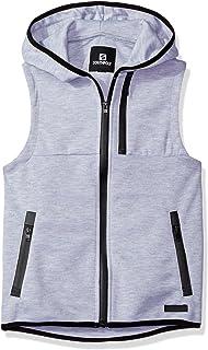 SOUTHPOLE Big Boys' Tech Fleece Zip up Hoodie Vest with Water Proof Zipper