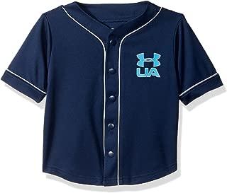 Under Armour Boys' Homerun Baseball Jersey Short Sleeve T-Shirt