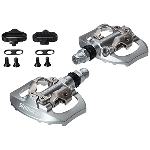42747519da68 SHIMANO Men's Speed Single Sided Touring Pedals-Silver, 9/16-inch