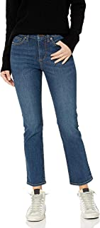 Goodthreads Mid-Rise Slim Straight Jeans Donna