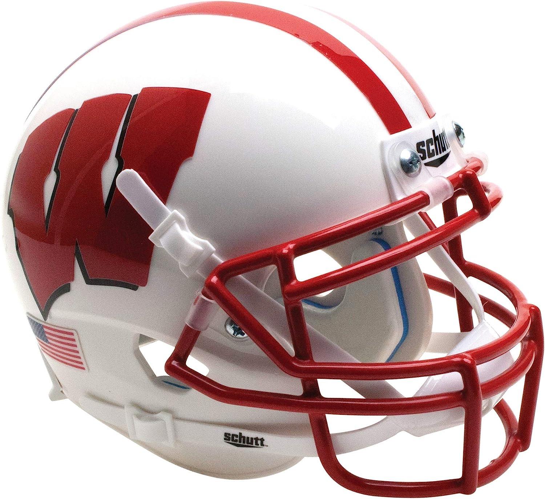 Schutt NCAA Wisconsin Badgers Mini Authentic XP Football Helmet