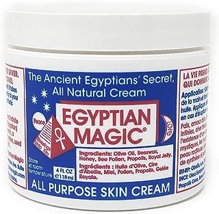 کرم پوست همه منظوره سحر و جادو مصر | پوست ، مو ، ضد پیری ، علائم کشش | کلیه مواد اولیه طبیعی | 4 اونس جار