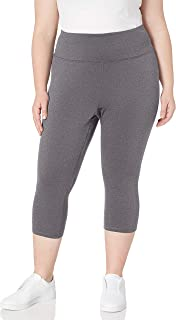Amazon Essentials Women's Plus Size Performance High-Rise Capri Legging