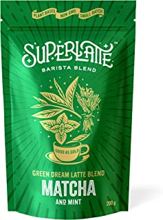 Matcha Green Tea Latte Blend - Matcha & Mint 200 g